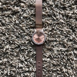 Charming Charlie Rose Gold Watch